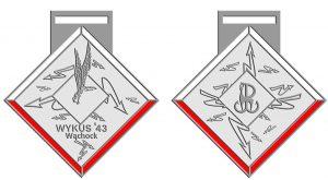 Medal marszobiegu Wykus'43